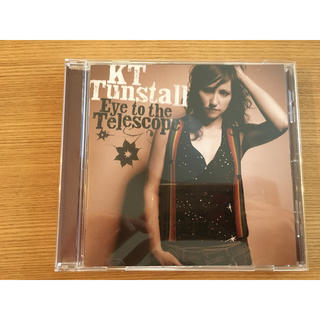 kt tunstall  CDアルバム eye to the telescope(ポップス/ロック(洋楽))