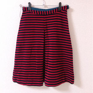 レプシィム(LEPSIM)のボーダースカート(ひざ丈スカート)