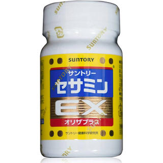 サントリー - 【新品】サントリーセサミンEX オリザプラス90粒 最終値下げ