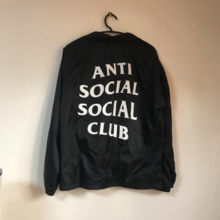 コムデギャルソン(COMME des GARCONS)のANTI SOCIAL SOCIAL CLUB コーチジャケット(ナイロンジャケット)
