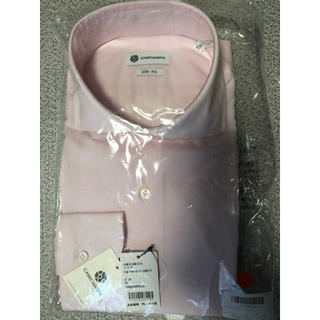 カミチャニスタ(CAMICIANISTA)のカミチャニスタ ナチュラルストレッチ×ホリゾンタルカラー ピンク サイズ41(シャツ)
