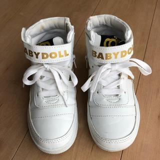 ベビードール(BABYDOLL)のBABYDOLL ハイカットシューズ☆(スニーカー)