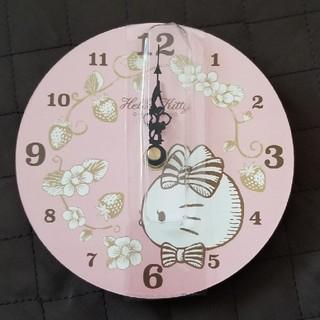 ハローキティ(ハローキティ)のキティ壁掛け時計(掛時計/柱時計)