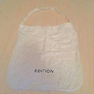 エディション(Edition)のA4サイズEditionショップバック(ショップ袋)