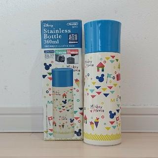 ミッキーマウス(ミッキーマウス)のミッキー 新品 超軽量 2way 中栓ステンレスボトル コップ付 360(水筒)