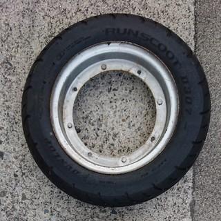 ダンロップ(DUNLOP)のホンダダックス ST70 タイヤホイールセット1台分(パーツ)