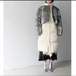 トーガ(TOGA)のtoga pulla ダウン コート セットアップshiny down coat(ダウンコート)