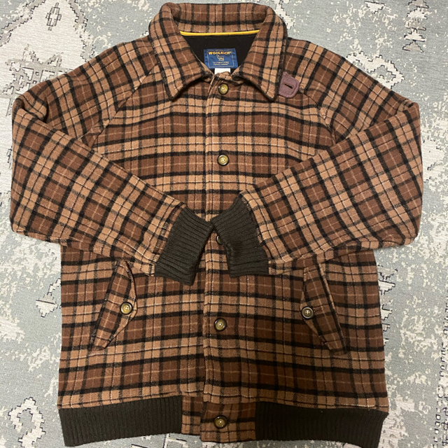 WOOLRICH(ウールリッチ)の【美品】wool rich チェックブルゾン メンズのジャケット/アウター(ブルゾン)の商品写真