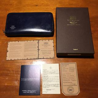 ホワイトハウスコックス(WHITEHOUSE COX)の伊勢丹メンズxBegin ホワイトハウスコックス ヴィンテージブライドルレザー(長財布)