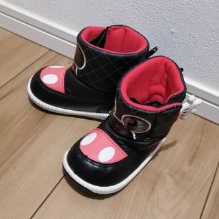 ディズニー(Disney)のミッキー スノーブーツ 13cm(長靴/レインシューズ)