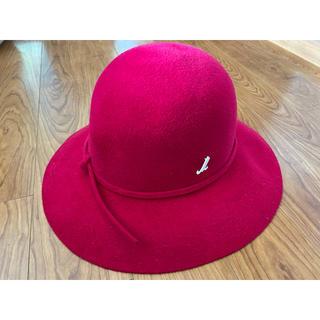 DEUXIEME CLASSE - ミュールバウアー Muhlbauer 帽子 ハット ピンク 定価55000 美品