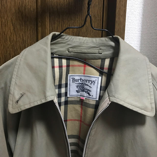 BURBERRY - Burberry ジップブルゾン