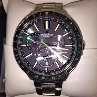 カシオ(CASIO)のあかP様専用 カシオ オシアナス  電波ソーラー  世界限定500本(腕時計(デジタル))