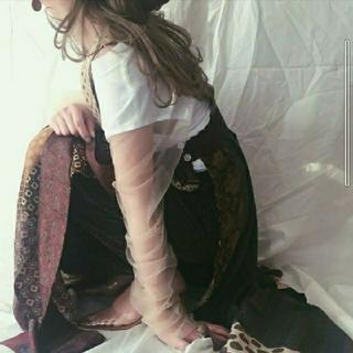 エディットフォールル(EDIT.FOR LULU)のMALION vintage マリオンヴィンテージ チュールTシャツ(シャツ/ブラウス(長袖/七分))
