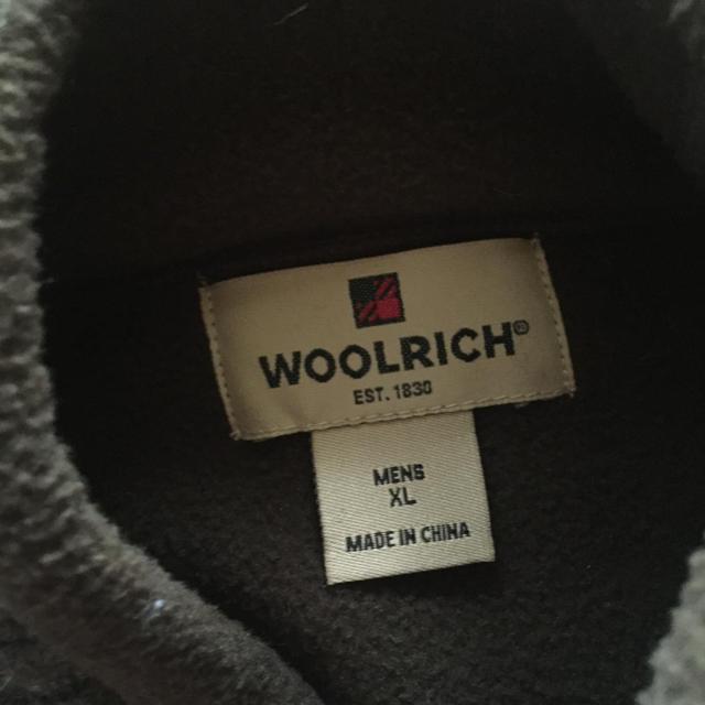 WOOLRICH(ウールリッチ)のウールリッチ 100%ウール セータージャケット XL メンズのジャケット/アウター(ブルゾン)の商品写真