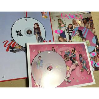 ウェストトゥワイス(Waste(twice))のミナ セット  CD 3枚  透明トレカ レア TWICE(K-POP/アジア)
