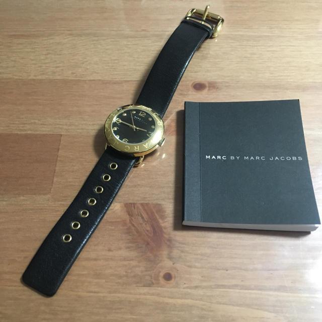 ロレックス コピー 日本で最高品質 / MARC BY MARC JACOBS - マークジェイコブス 腕時計 レディース ブラック 美品 電池交換済 ※箱なし発送の通販