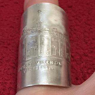 スプーンリング 14号 調節可 60s USA マウント ヴァーノン 654(リング(指輪))