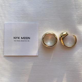 【新作入荷❤︎即日発送可】volume design ring set ゴールド(リング(指輪))