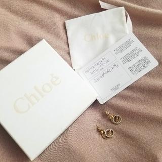 クロエ(Chloe)のChloe ロゴピアス(ピアス)