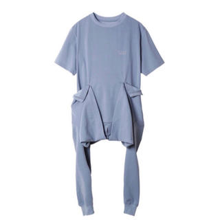 ルシェルブルー(LE CIEL BLEU)の【IRENE】Waist Cloth Tee(Tシャツ(長袖/七分))