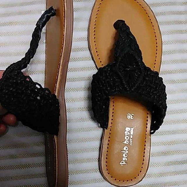 UNITED ARROWS(ユナイテッドアローズ)の【新品タグつき】ユナイテッドアローズ サンダル 38サイズ レディースの靴/シューズ(サンダル)の商品写真