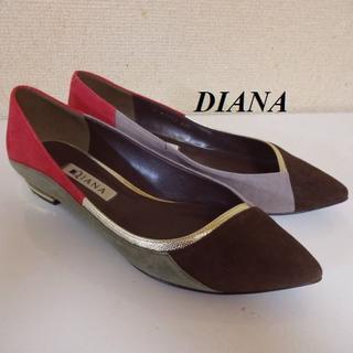 ダイアナ(DIANA)のDIANAダイアナ♡バイカラーパンプス(ハイヒール/パンプス)