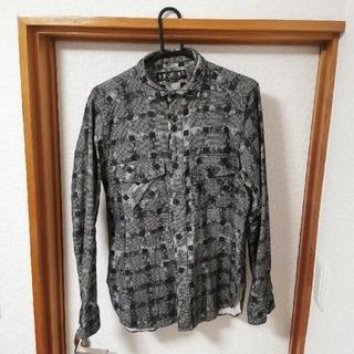 バル(BAL)のバル bal ネルシャツ m(Tシャツ/カットソー(七分/長袖))