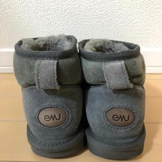 エミュー(EMU)のemu ムートン ブーツ サイズ W6 23センチ グレー(ブーツ)