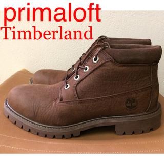 ティンバーランド(Timberland)の美品 ティンバーランド プリマロフト 4ホール ブーツ ウォータープルーフ(ブーツ)