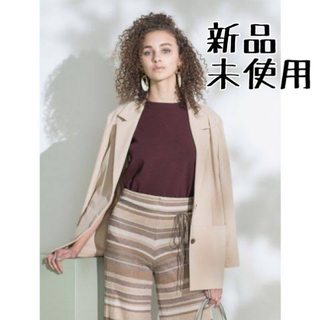 Mila Owen - Mila owen デザインポケットテーラードジャケット