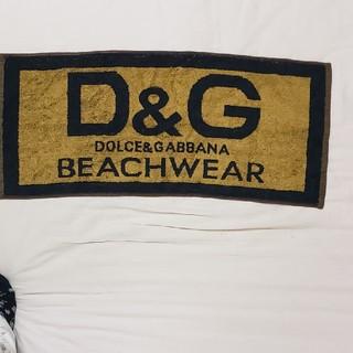 ドルチェアンドガッバーナ(DOLCE&GABBANA)のお値下げ ドルチェ&ガッバーナ ノベルティーフェイスタオル(タオル/バス用品)