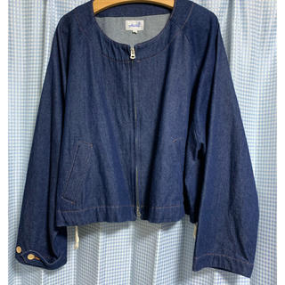 サンシー(SUNSEA)のyotsuba デニムジャケット(Gジャン/デニムジャケット)