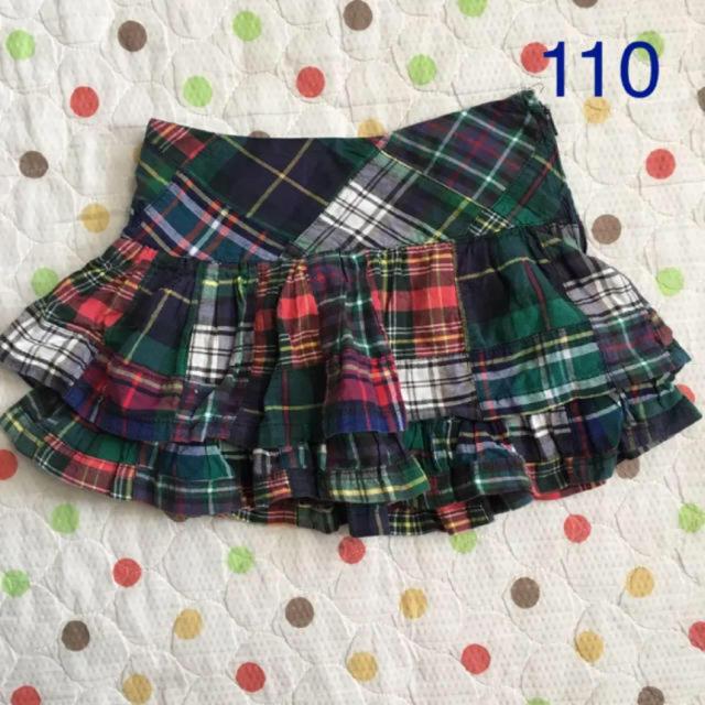 Ralph Lauren(ラルフローレン)のラルフローレン 110cm スカート キッズ/ベビー/マタニティのキッズ服女の子用(90cm~)(スカート)の商品写真