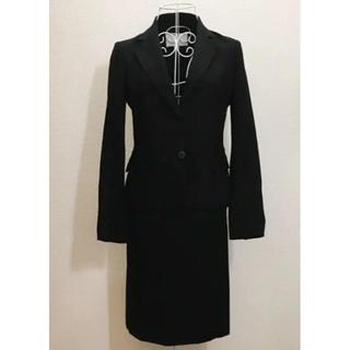 ナチュラルビューティー(NATURAL BEAUTY)のナチュラルビューティー スカートスーツ BLACK(スーツ)
