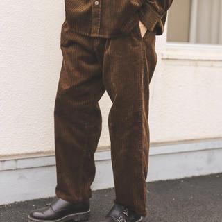 ニコアンド(niko and...)のニコアンド  コーデュロイパンツ Mサイズ ブラウン(ワークパンツ/カーゴパンツ)