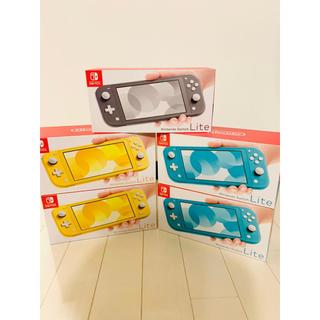 ニンテンドースイッチ(Nintendo Switch)の【任天堂】Nintendo Switch Lite 5台 まとめ売り スイッチ(家庭用ゲーム機本体)