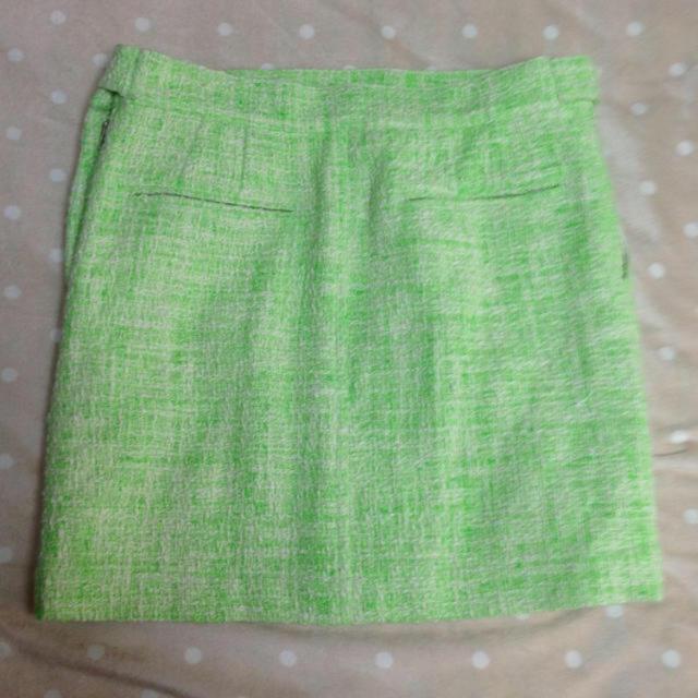 TOMORROWLAND(トゥモローランド)のTOMORROWLAND ツイードミニスカート レディースのスカート(ミニスカート)の商品写真