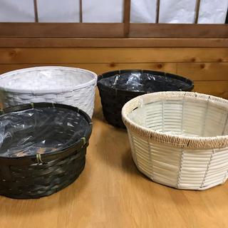 植木鉢カバー、フラーワーアレンジメントベース4点(その他)