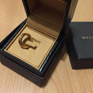 ブルガリ(BVLGARI)のブルガリ ワンバンドリング 刻印 46 ピンクゴールド(リング(指輪))