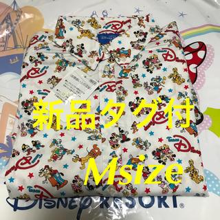 ディズニー(Disney)の新品タグ付★ディズニー 大人気❤️チームディズニー 総額 長袖シャツ Msize(シャツ/ブラウス(長袖/七分))
