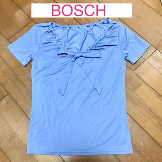 ボッシュ(BOSCH)の★新品タグ付★BOSCH さわやかなブルーのTシャツ(Tシャツ(半袖/袖なし))