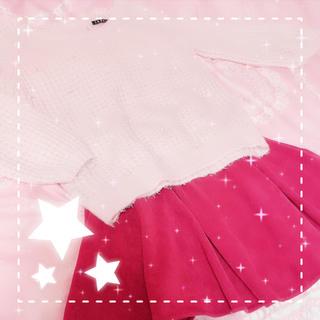 イング(INGNI)のINGNIセット売り♡゚ ニット×フレアスカート(セット/コーデ)