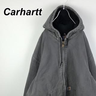 カーハート(carhartt)のカーハート アクティブジャケット パーカー カバーオール ダック生地 90s(カバーオール)