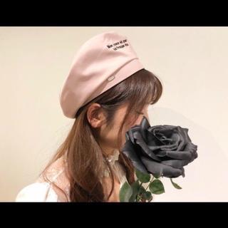 EATME - 新品 タグ付 EATME イートミー rogoタフタベレー帽 ピンク 益若つばさ