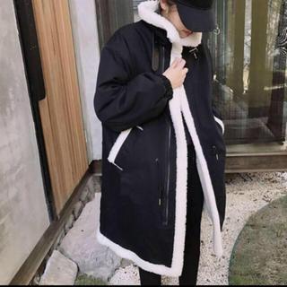 OHOTORO - 韓国 ムスタンコート ロングコート