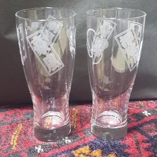 未使用尾車部屋関脇豪風断髪式記念品ビールグラス&日本酒セット(相撲/武道)