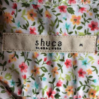 シュカグローバルワーク(shuca GLOBALWORK)のShuca GLOBAL WORK×LIBERTY 半袖シャツ(シャツ/ブラウス(半袖/袖なし))