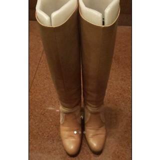 ジュゼッペザノッティ(GIUZEPPE ZANOTTI)の美品 ジル・スチュアート ロング ブーツ ダイアナ ジュゼッペザノッティ(ブーツ)