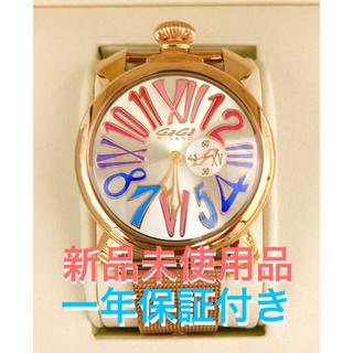 ガガミラノ(GaGa MILANO)の新品【GaGa MILANO 】ガガミラノ スリム ゴールドプレート5081.1(腕時計)